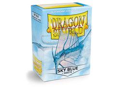 Dragon Shield Box of 100 - Matte Sky Blue