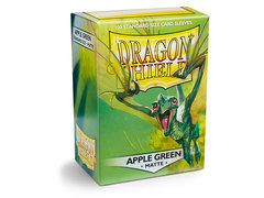 Dragon Shield Box of 100 - Matte Apple Green