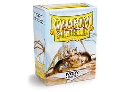 Dragon Shield Box of 100 - Matte Ivory