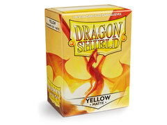 Dragon Shield Box of 100 - Matte Yellow