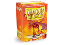 Dragon Shield Box of 100 - Matte Orange
