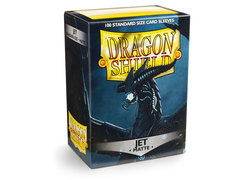 Dragon Shield Box of 100 - Matte Jet
