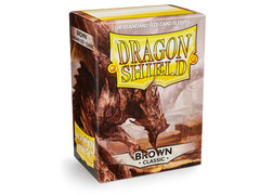 Dragon Shield Box of 100 - Brown
