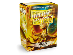 Dragon Shield Box of 100 - Gold