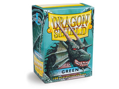 Dragon Shield Box of 100 - Green