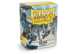 Dragon Shield Box of 100 - Silver