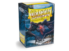 Dragon Shield Box of 100 - Matte Black