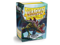 Dragon Shield Box of 100 - Matte Green