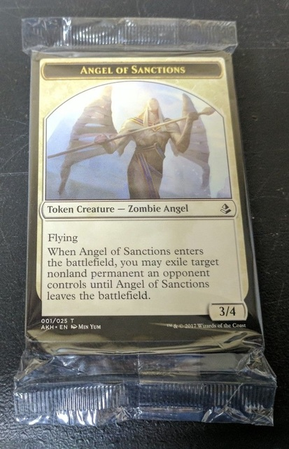 Amonkhet Sealed Tokens Pack Double Sided