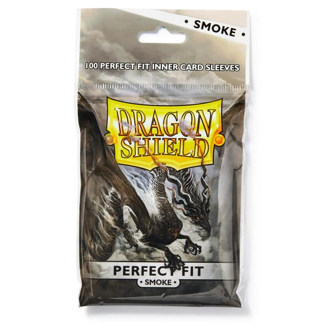 Dragon Shields Perfect Fit: Smoke (100)