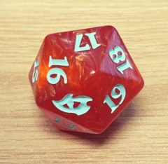 MTG Oversized Spin Down Life Counter D20 Dice Ikoria: Lair of Behemoths