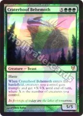 Craterhoof Behemoth - Foil