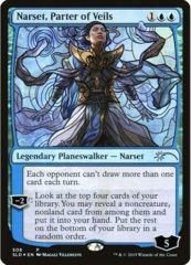Narset, Parter of Veils - Foil - Stained Glass