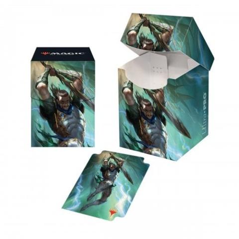 Ultra Pro - War of the Spark PRO 100+ Deck Box: Gideon Blackblade (UP18017)