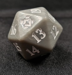 MTG Oversized Spin Down Life Counter D20 Dice Zendikar Rising Gift Edition