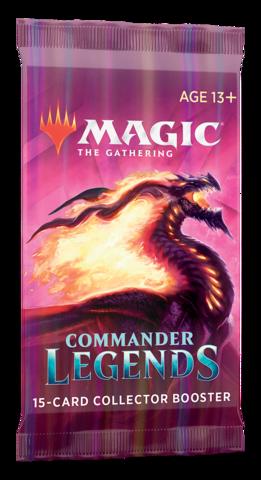 Commander Legends Collector Booster Pack