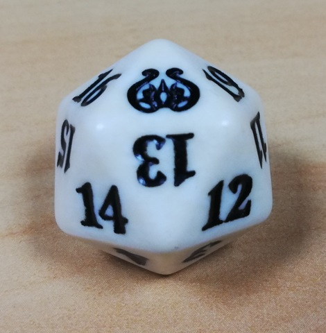 Dice MtG Set of 5 Spindown Life Counters Aether Revolt