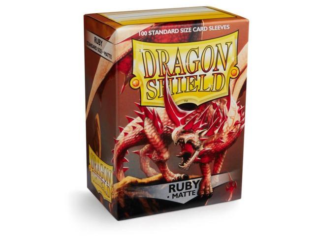 Dragon Shield Box of 100 - Matte Ruby