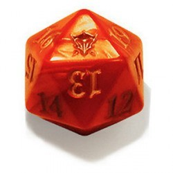 MTG Spin Down Life Counter D20 Dice Dragons of Tarkir Red