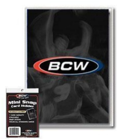 BCW Mini Snap Card Holder