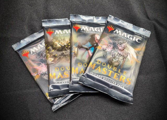 Double Masters 4 Draft Booster Bundle