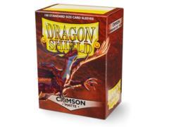 Dragon Shield Box of 100 - Matte Crimson