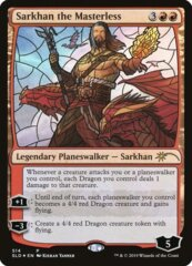 Sarkhan the Masterless - Foil - Stained Glass