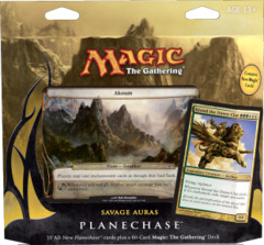 Planechase Game Pack 2012 - Savage Auras