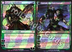Garruk Relentless // Garruk, the Veil-Cursed - Foil