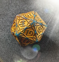 MTG Oversized Spin Down Life Counter D20 - Kaldheim