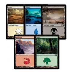 100 Basic Land (20 of each)