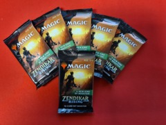 Zendikar Rising Set Booster x 6