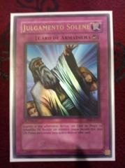 Solemn Judgment - PORTUGUESE - PMT-P127 - Ultra Rare - 1st Edition