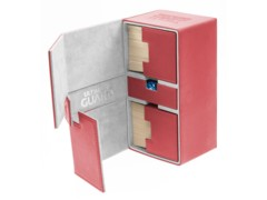 Ultimate Guard - Twin Flip'n'Tray 200 - RED