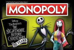 Monopoly: Nightmare Before Christmas 25th Anniversary