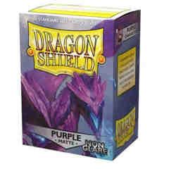 Dragon Shield - Sleeves 100ct (Standard) - Matte Non-Glare PURPLE