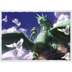 Dragon Shield - Sleeves 100ct (Standard) - Art Matte DRAGON OF LIBERTY