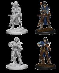 Pathfinder Deep Cuts Unpainted Miniatures: Elf Female Bard