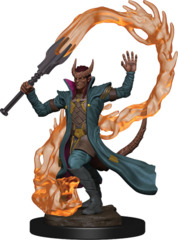 Dungeons & Dragons Icons of the Realms Premium Figures: W1 Tiefling Male Sorcerer