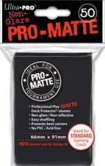 Ultra Pro - Sleeves 50ct (standard) - Pro-matte BLACK