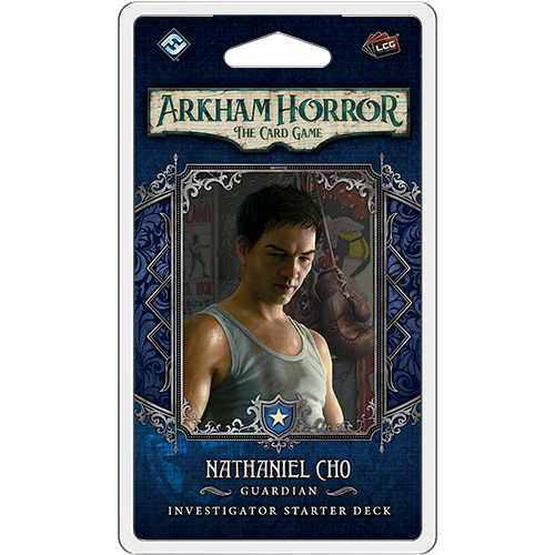 Arkham Horror - Nathaniel Cho  Investigator Starter Deck