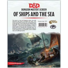 DM screen Of Ships and the Sea