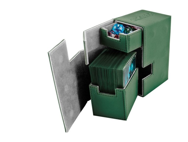 Ultimate Guard - FlipnTray 80 - GREEN
