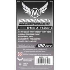 Mayday Games Sleeves 100ct - 61 x 112