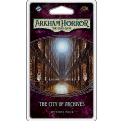 Arkham Horror LCG - The City of Archives Mythos Pack