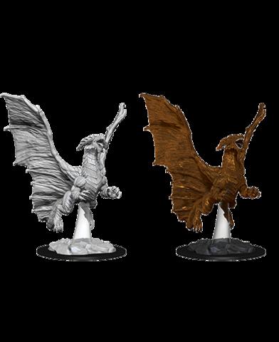 D&D Nolzurs Marvelous Miniatures: Young Copper Dragon