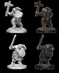 D&D Nolzur's Marvelous Miniatures: Earth Genasi Fighter