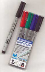 CHESSEX Water Soulble Marker Set (4CT)