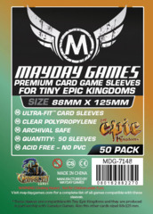 Mayday Games Sleeve 50ct - 88 x 125