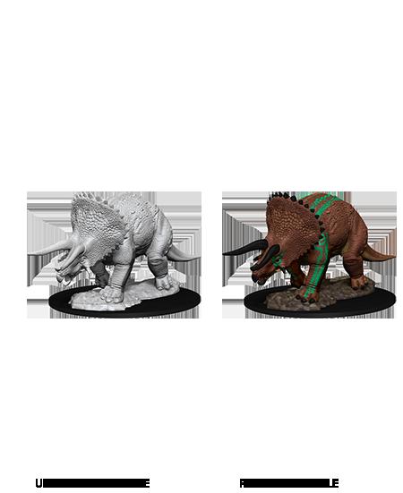 D&D Nolzurs Marvelous Miniatures: Triceratops